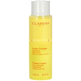 Clarins Toning Lotion Alcohol Free Normal Dry Skin 200ml