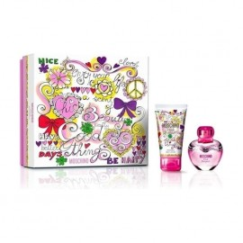 Moschino Pink Bouquet EDT 30ml + 50ml Body Lotion